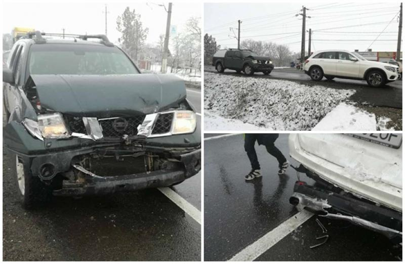 Accident rutier pe DN 7, între localităţile Mândruloc şi Cicir