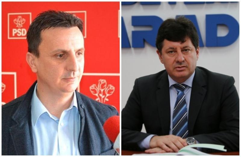 Banii şi drumurile judeţene, motiv de păruială politică între deputatul Tripa şi preşedintele CJA, Iustin Cionca