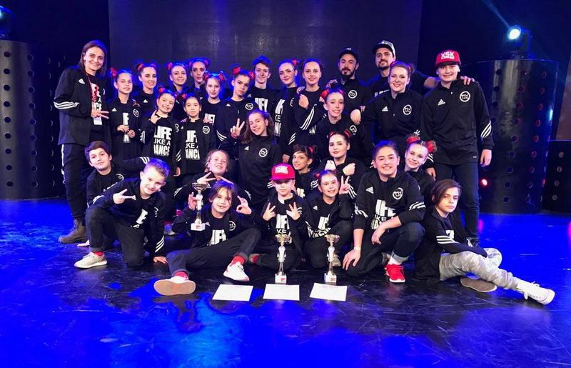Dansatorii de la Doma Art, campionii României la HIP HOP Internaţional 2018