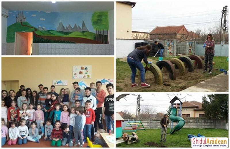 Voluntariat pentru joc și bucurie, la Grădinița PP 12 Arad