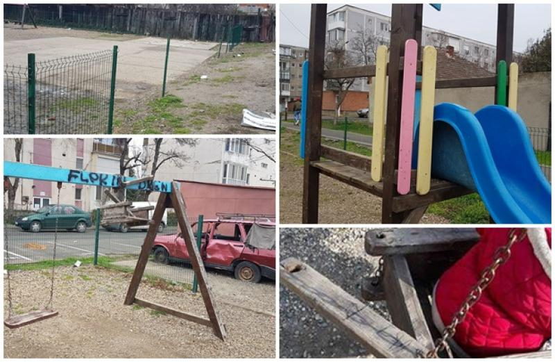 """Strigătul de disperare al unei mame din Confecţii: """" Romii distrug totul! Ne este frică să mai lăsăm copiii la joacă!"""". Locuitorii din zonă, obişnuiţi să fie prădaţi!"""