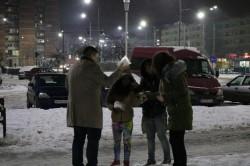 Tinerii liberali arădeni au împărțit ceai cald și mâncare oamenilor străzii!