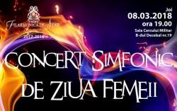 Concert simfonic de ziua femeii la Filarmonica din Arad
