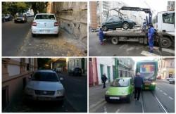 Adio bizoni şi maşini abandonate pe domeniul public! Primăria Arad dă START la ridicarea autoturismelor!