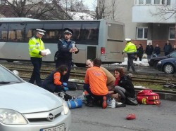 Bărbat accidentat mortal pe trecerea de pietoni, în municipiul Arad