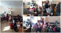 Copiii din Grădişte au oferit un mărţişor pentru bunici