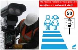 Propunerea USR Arad pentru reducerea accidentelor: împânzirea oraşului cu radare fixe!