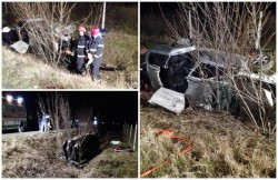 Trei fraţi, implicaţi într-un groaznic accident, produs în localitatea Şimand