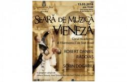 Seară de muzică vieneză, la sala Cercului Militar Arad