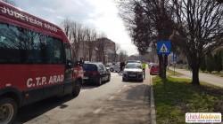 Fetiță de 14 ani, accidentată pe Calea  Victoriei