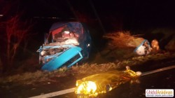 Două persoane și-au pierdut viața într-un groaznic accident rutier, la ieșire din localitatea Andrei Şaguna