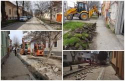 Încep şantierele pe străzile Aradului