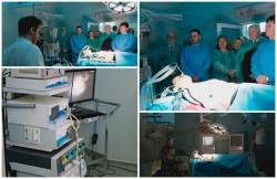Aparatură modernă, cu o investiție de peste 400.000 de euro la Secția Chirurgie II a Spitalului Clinic Județean de Urgență Arad!