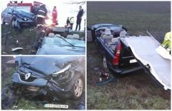 Grav accident rutier pe DN79, pe raza localităţii Zimandu Nou. Cinci victime, transportate la spital!