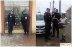 Geantă cu bani, acte şi carduri bancare, găsită de jandarmii din Chişineu- Criş