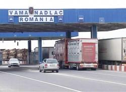 Măsuri pentru fluidizarea traficului de automarfare, în punctele de trecere a frontierei din vestul ţării
