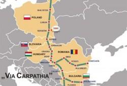 Via Carpathia, autostrada europeană care ar lega Aradul de Oradea, blocată de Guvernul României