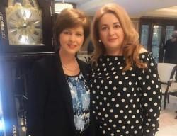 Florica Cherecheș, președinta femeilor liberale, s-a întâlnit cu arădenii