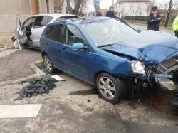 """Incidente rutiere """"la indigo"""" în cartierul Bujac. O femeie a ajuns la spital, în urma unui accident rutier"""