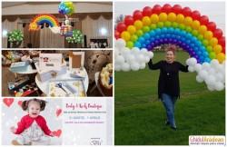 """Ce """"minuni"""" mai face Bianca Morariu şi de unde atâta culoare?! Peste 3000 de baloane, la Târgul de Paşte Baby&Kids Boutique!"""