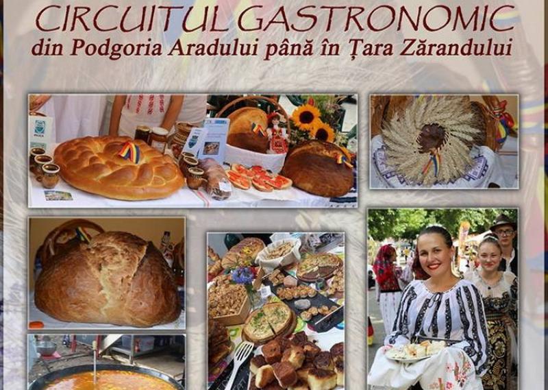 Circuitul Gastronomic Arădean va avea loc între lunile mai și decembrie