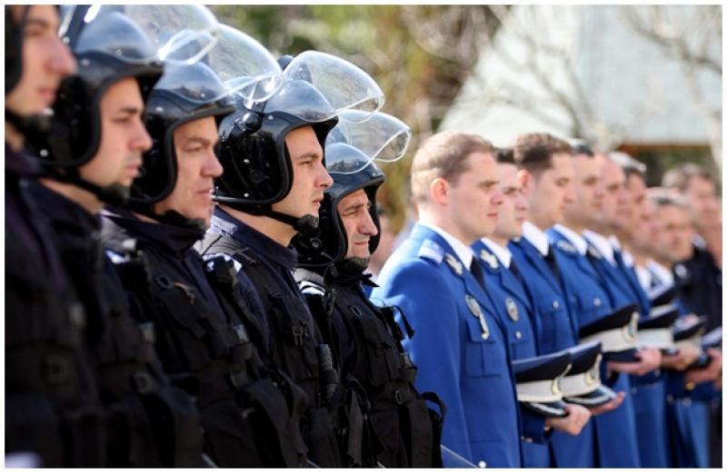 Ceremonial militar dedicat aniversării Zilei Jandarmeriei Române