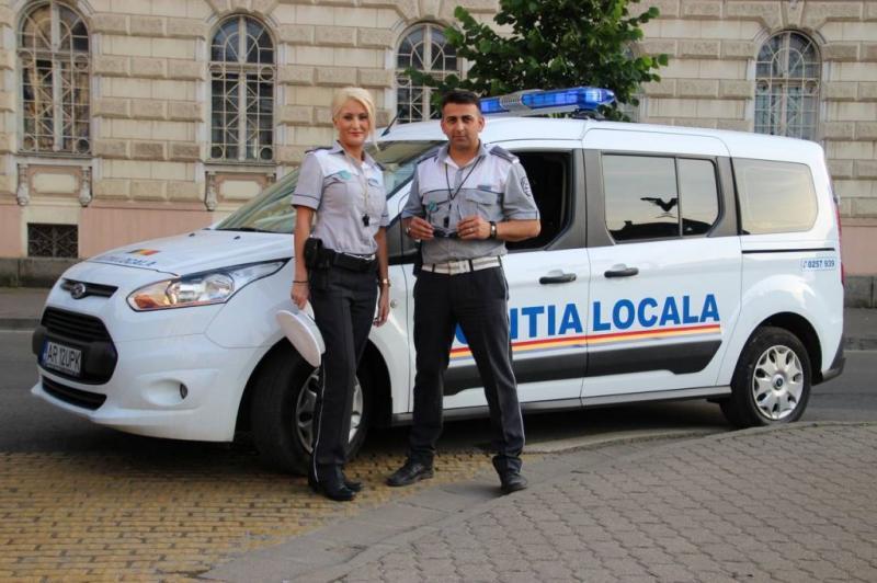 Poliţia Locală Arad, la datorie de Paşte!