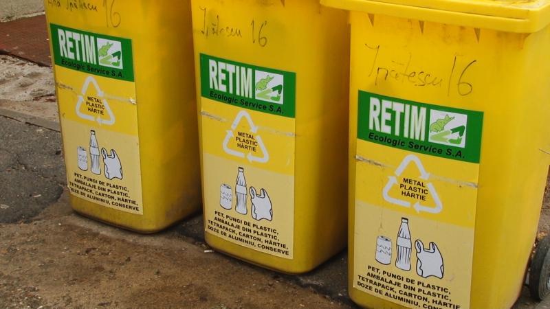 RETIM deschide două puncte de distribuire a pubelelor în municipul Arad