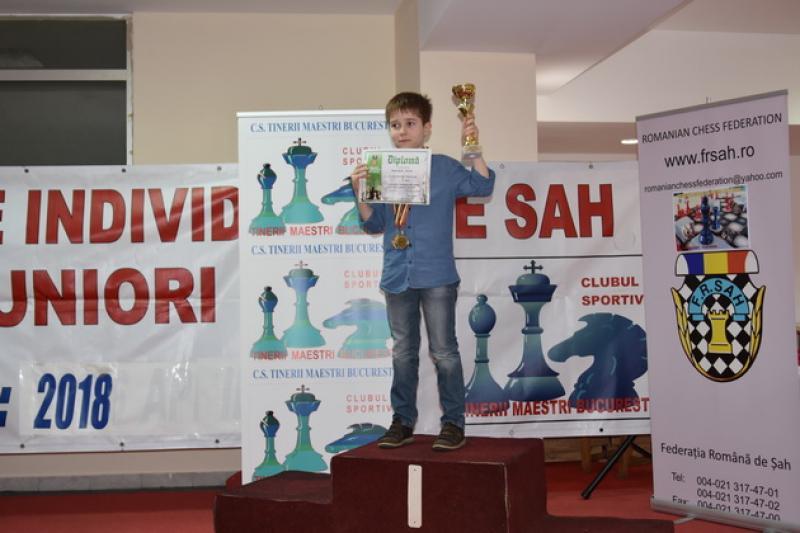 Filip Magold – 4 medalii la Naţionalele de Sah pentru Copii