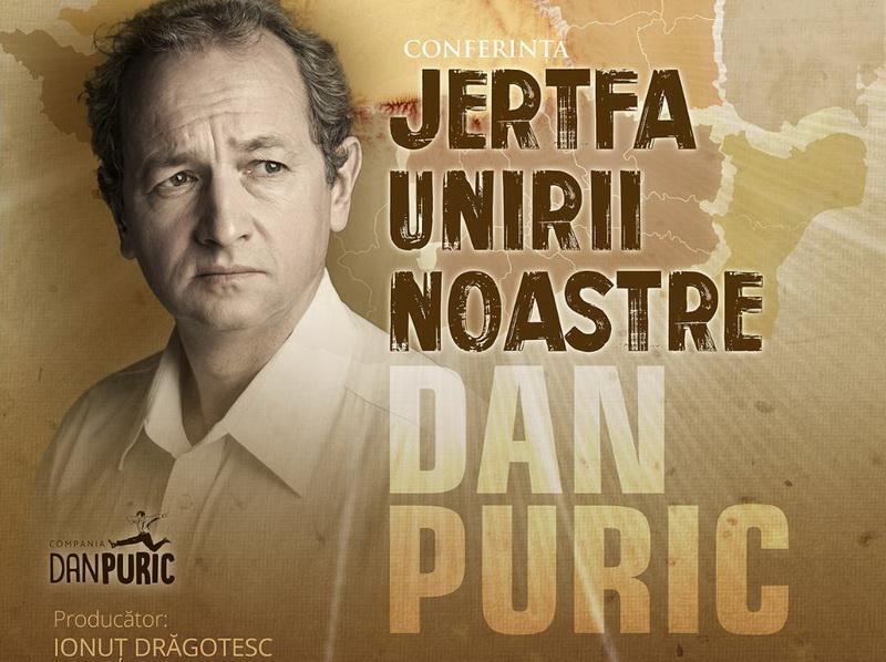 Dan Puric revine la Arad