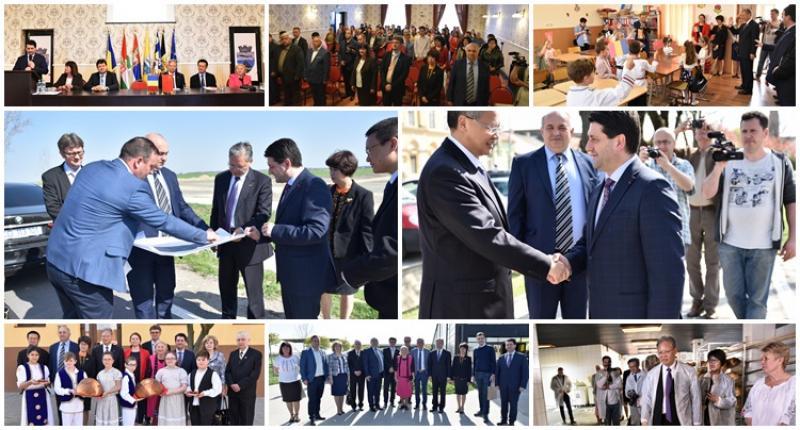 Primul Club Pro-China din România funcţionează la Pecica