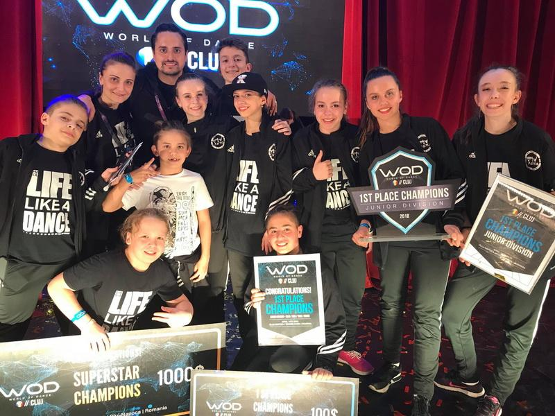 Adădenii de la X-Style Kids, campioni absoluţi la World of Dance România 2018