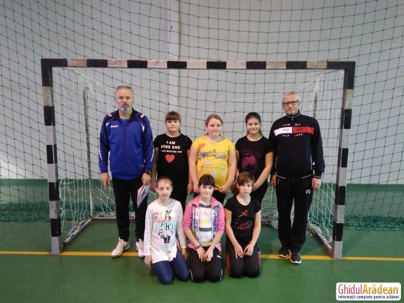 Micuțele fotbaliste de la Avram Iancu au participat la ONSȘ care a avut loc la Reșița