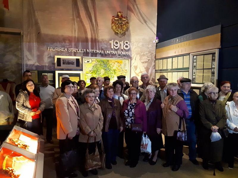 Vizite gratuite la muzeu pentru persoanelor vârstnice din Centrele de zi