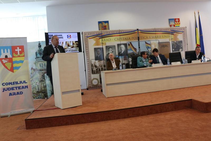 Consiliul Judeţean Arad, gazda Forumului Economic Internaţional