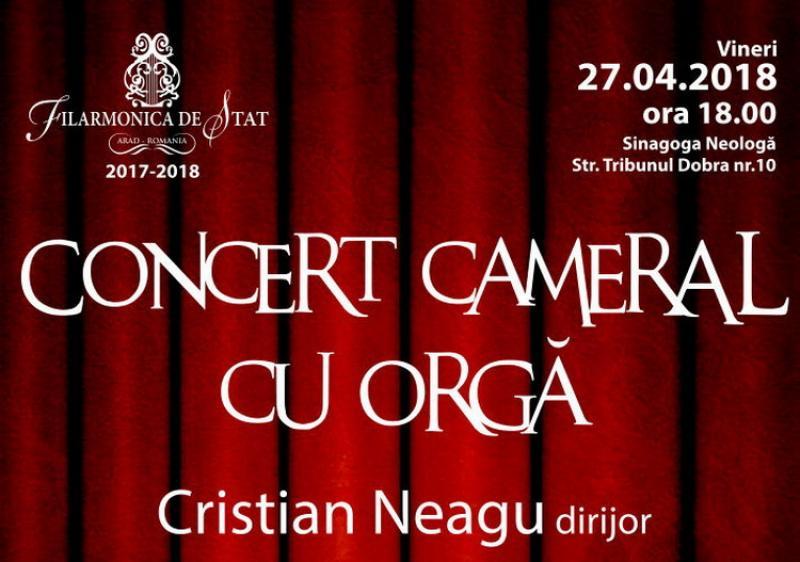 Sinagoga neologă din Arad devine gazda unui nou concert cameral cu orgă