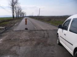 Lucrări de modernizare pe drumul care face legătura între Turnu şi Pecica