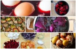 Vopesaua pentru ouă- adevărată otrăvă pentru organism! Află cum poţi obţine culori, din ingrediente naturale!