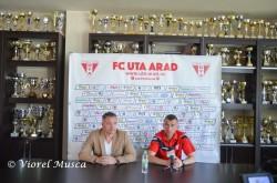Despre meciul UTA Arad - Sportul Snagov