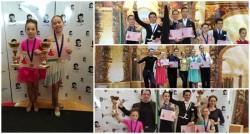 Școala de Dans Royal Steps vine acasă cu rezultate excelente de la Cupa Mulbach Sebeș
