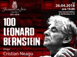 Filarmonica din Arad propune arădenilor Centenarul Leonard Bernstein