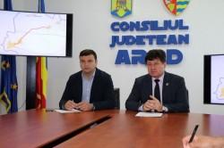 Începe modernizarea drumurilor judeţene din Arad!