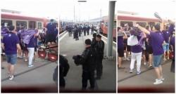Fanii lui Poli au ajuns în Arad!