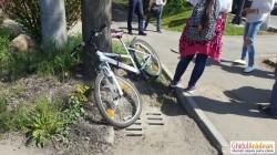 Biciclistă lovită pe trecerea de pietoni, pe Cocorilor