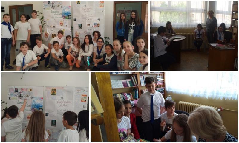 """Săptămâna lecturii la Şcoala Gimnazială """"Aurel Vlaicu"""" Arad"""