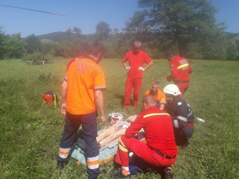 GRAV accident de circulație între Lipova și Ususău