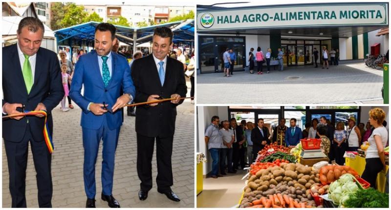 Hala agroalimentară Mioriţa a fost inaugurată