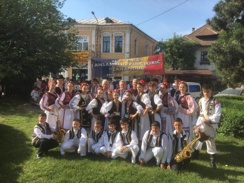 Zărandul - Locul I la Festivalul National de Folclor de la Târgu Jiu
