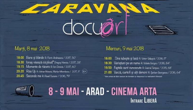 Caravana Docuart proiectează la Cinema Arta documentare de autor
