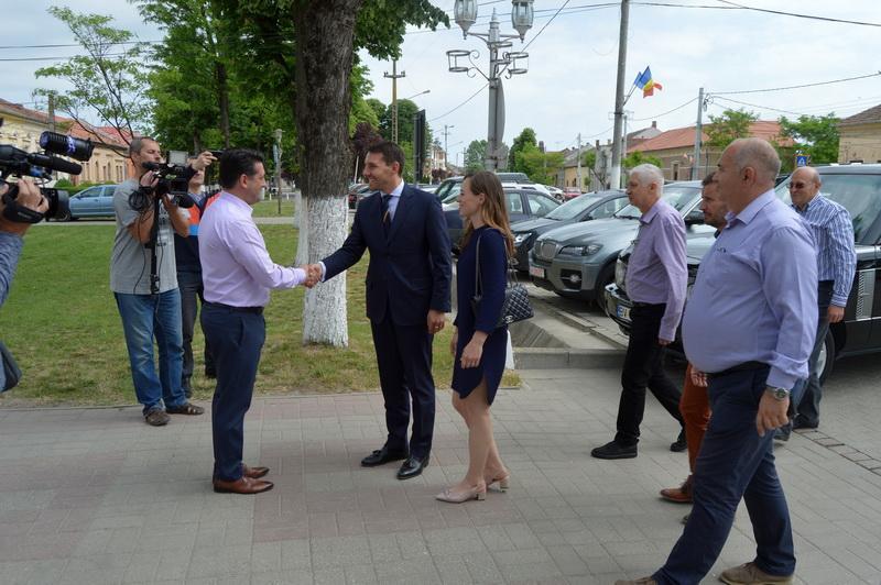 Principele Nicolae al României a vizitat Pecica